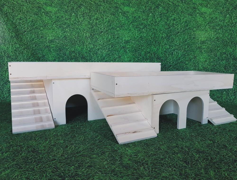 Holz Natur Terrassendach